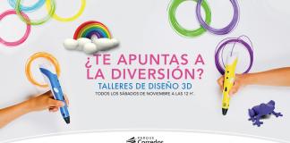 talleres de diseño 3D Parque Corredor