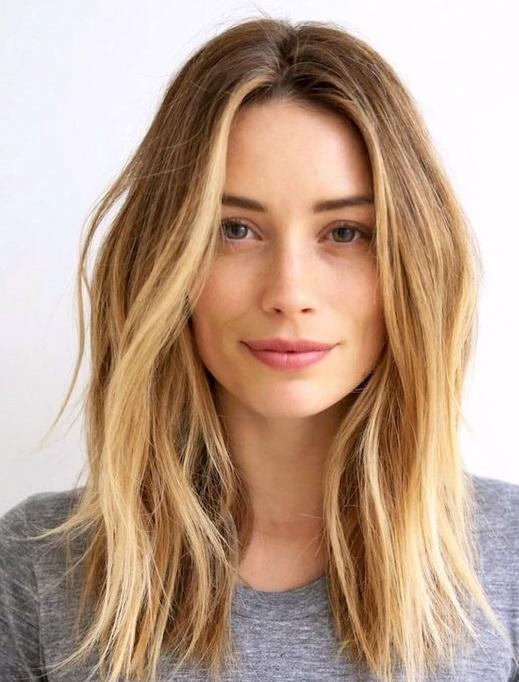 Mechas en las puntas pelo corto
