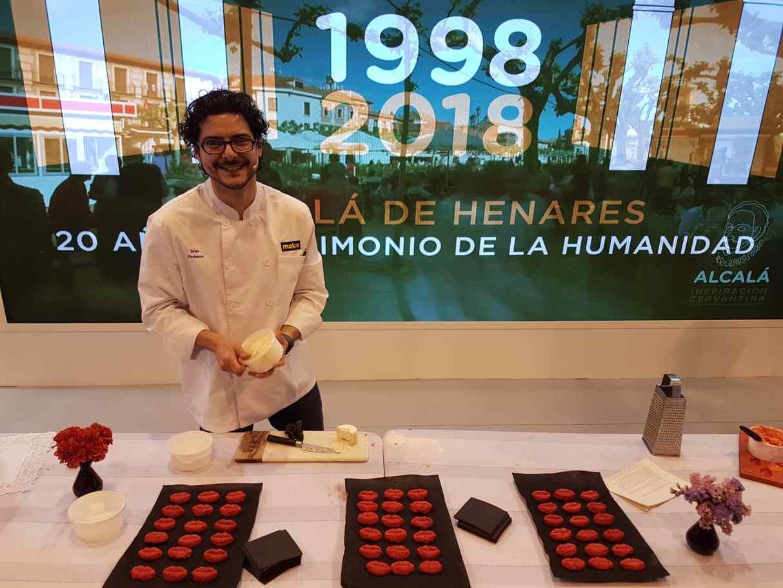 Alcal presenta un curso de cata y dos showcookings en for Aprender a cocinar en alcala de henares