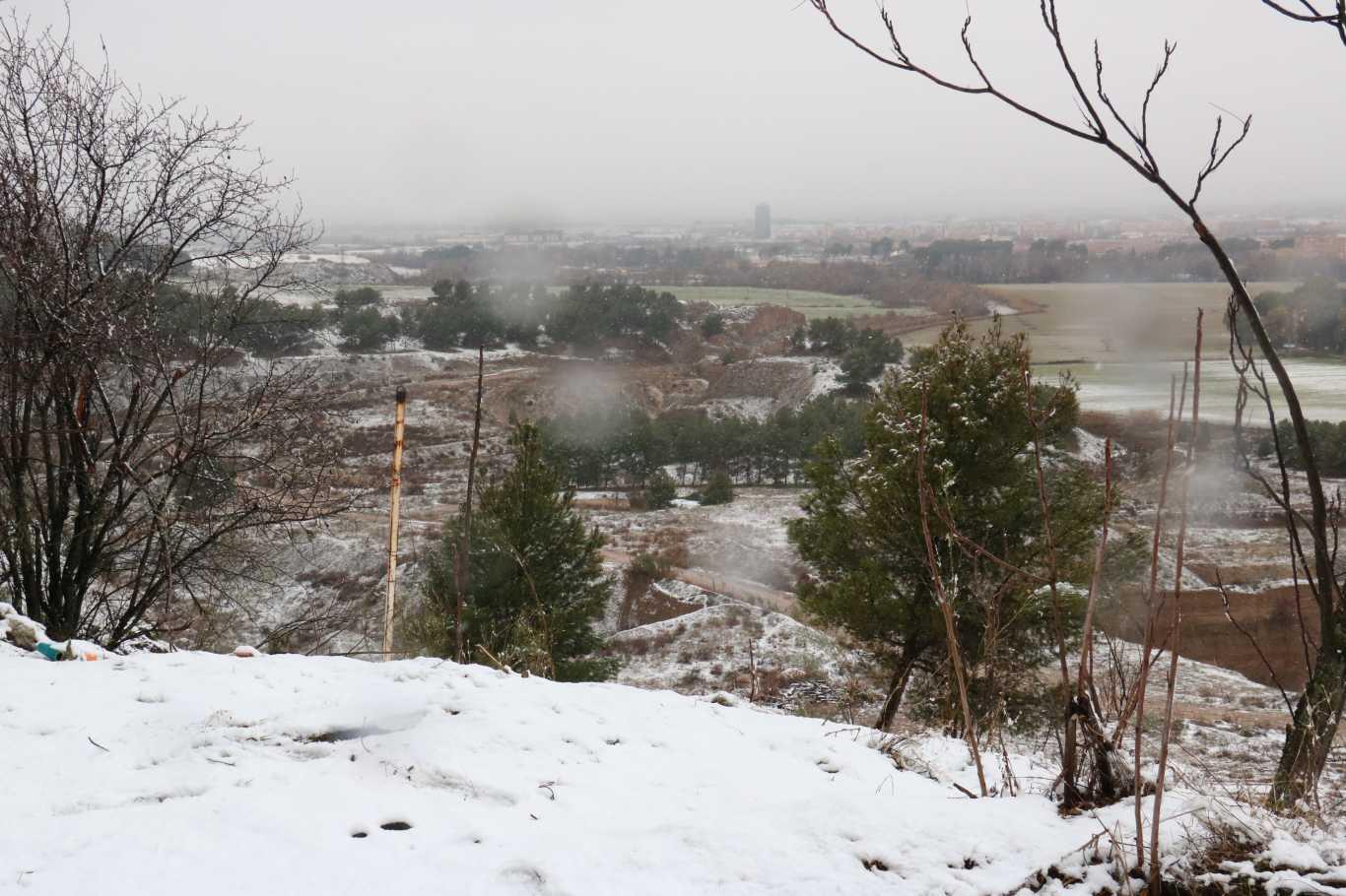Nieve en alcal de henares nos vamos al zulema dream for Cementerio jardin de alcala de henares