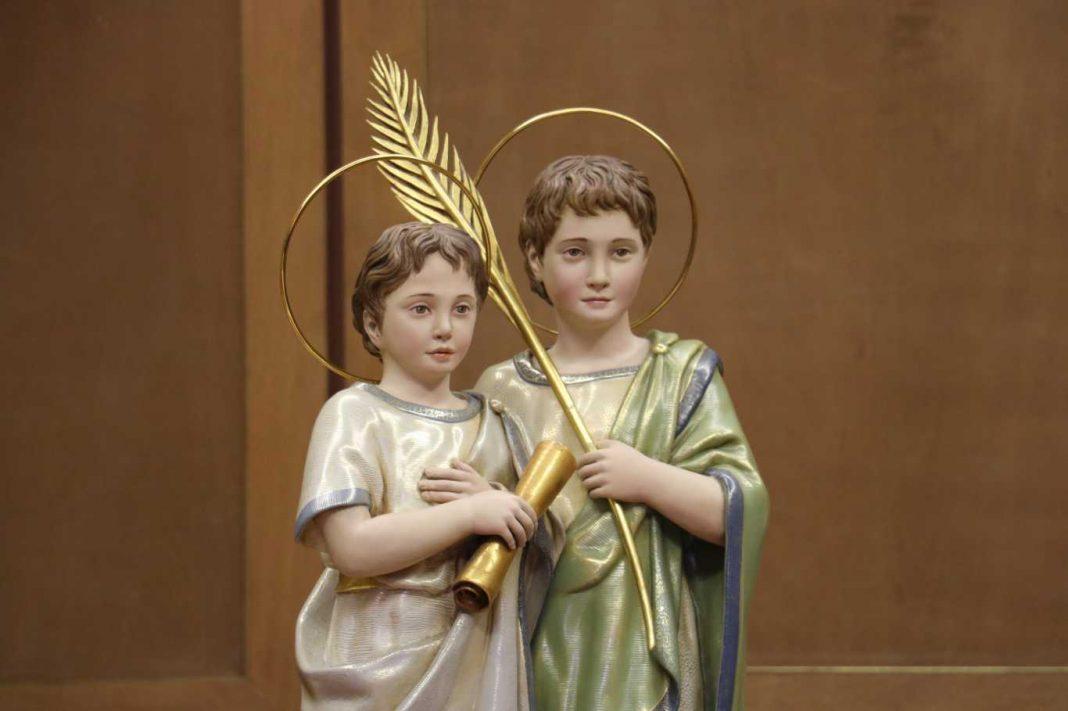 Reversión de las Reliquias de los Santos Niños Justo y Pastor