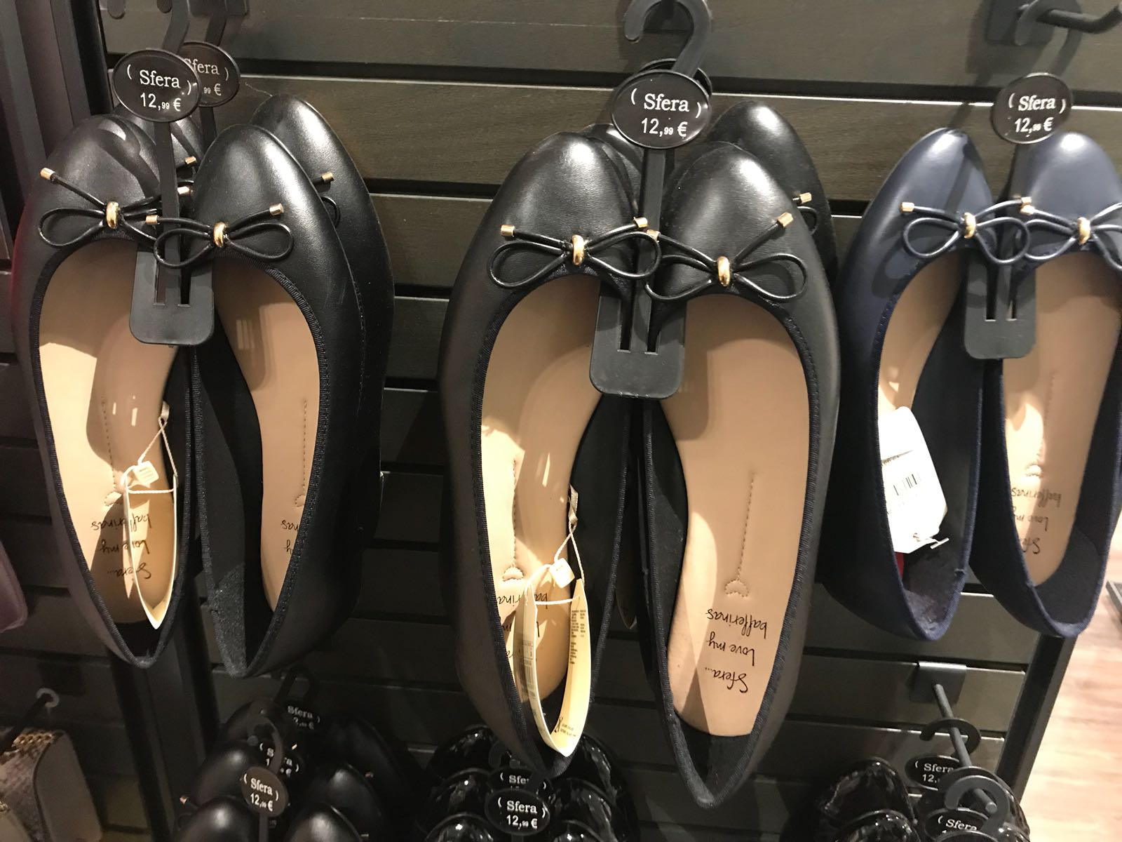 Las bailarinas, el calzado de la primavera
