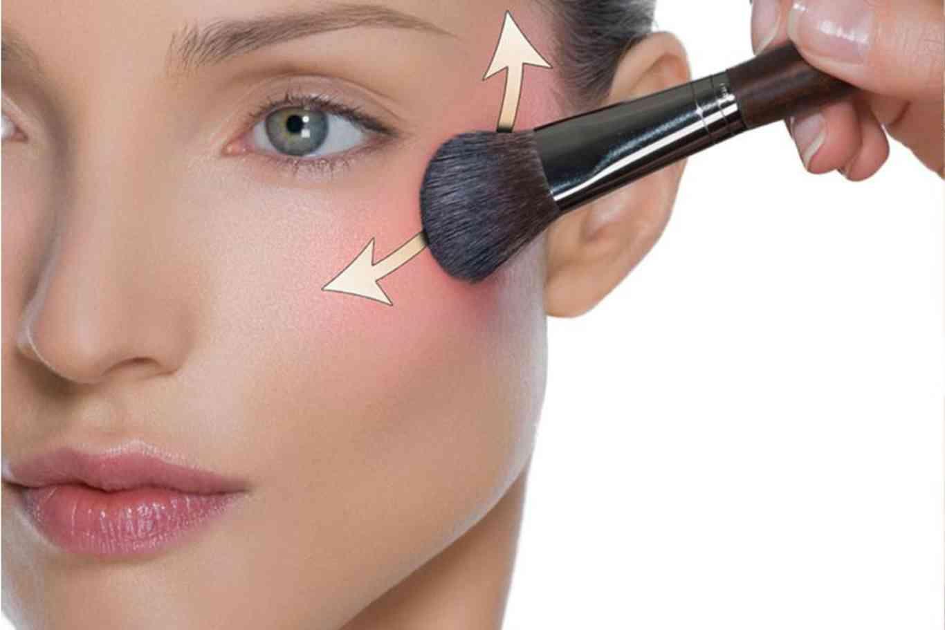 Así debes aplicar el colorete según la forma de tu rostro