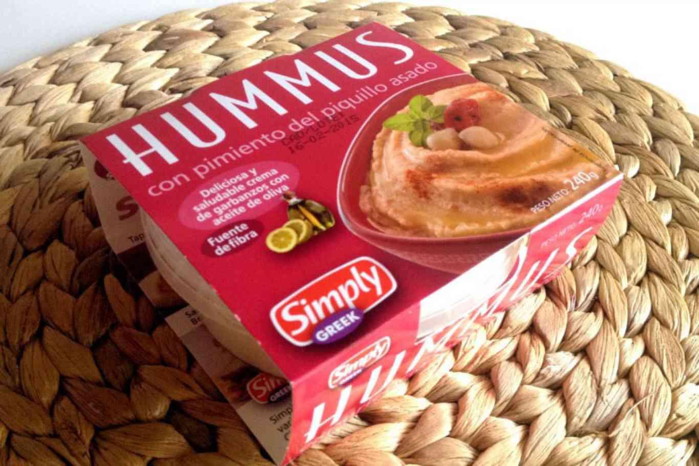 calorias hummus mercadona