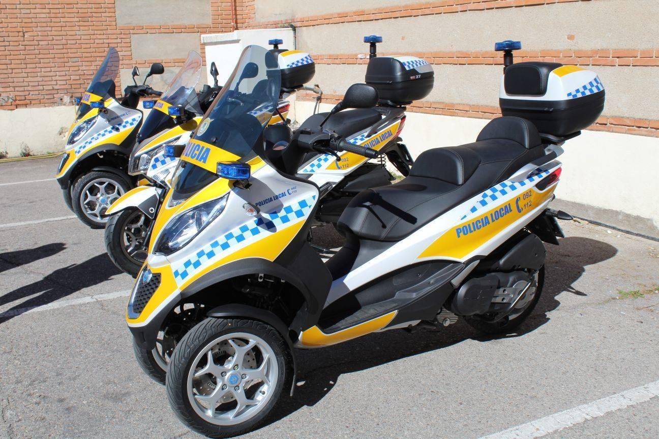 tres nuevas motos para la polic a local de alcal de