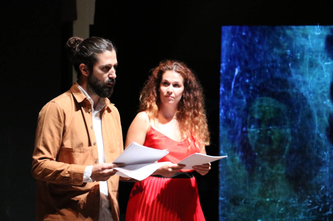 Darío Facal y Carlota Ferrer, Directores Artísticos del Corral de Comedias de Alcalá.