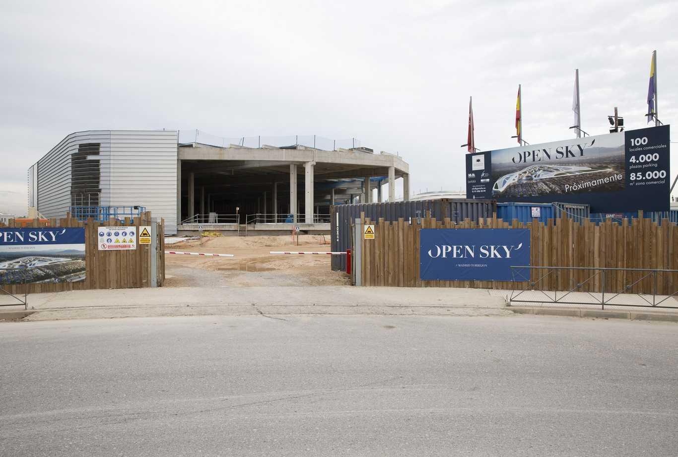 Se Retrasa La Apertura Del Centro Comercial Open Sky Dream Alcalá