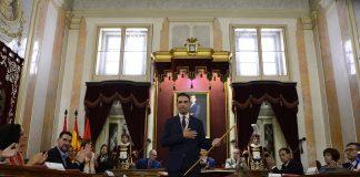 Investidura de Javier Rodríguez Palacios como alcalde de Alcalá de Henares