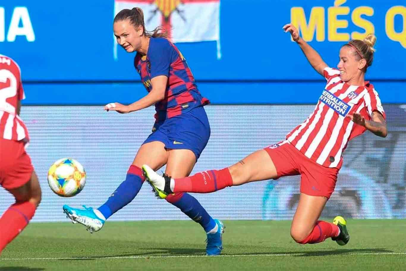 Champions League Femenina El Atletico Recibira Al Barca En Marzo En Alcala Dream Alcala