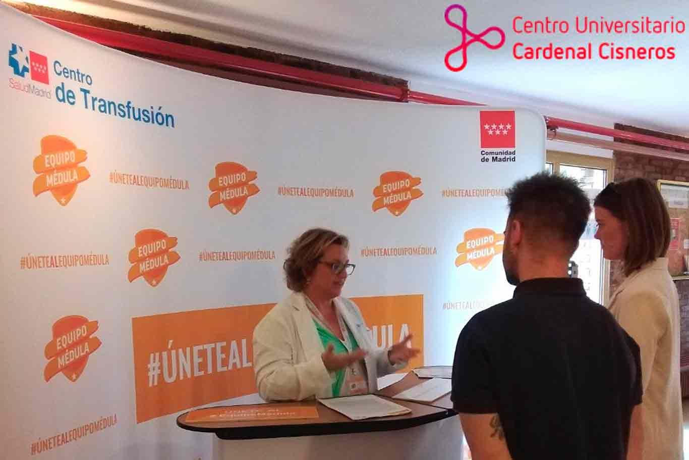 28 nuevos donantes de médula del CU Cardenal Cisneros en una sola jornada - Dream! Alcalá
