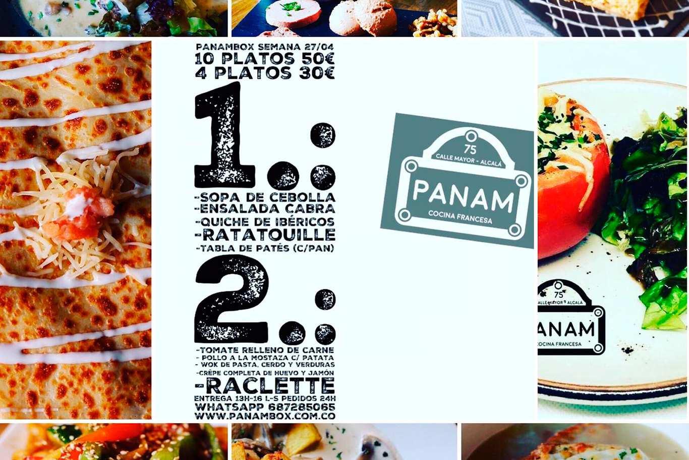 Panambox Las Deliciosas Cajas De Comida A Domicilio Del
